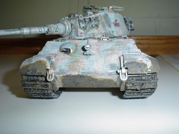 King Tiger Russian Front
