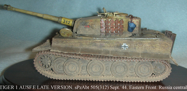 Tiger 1 Ausf E (Late Version)