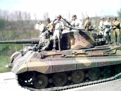 TIGER II battle of the Bulge