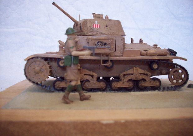 Carro Armato M13/40 After the battl of El Alamein