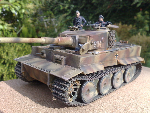 Tiger 1 Mid production