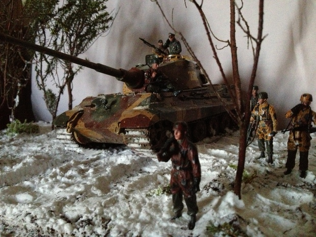 sPzAbt 501 no.222 King Tiger Ardennes Offensive