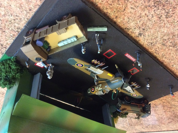 refuelling and re arming