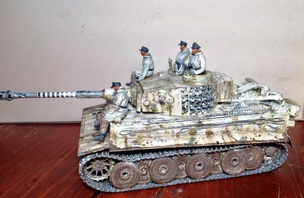 Winter Tiger S04 Wittmann and Crew