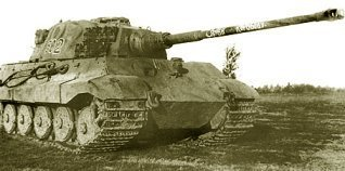 Henschel King Tiger Tank #502
