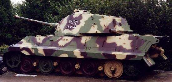 Tanque: King Tiger Aleman