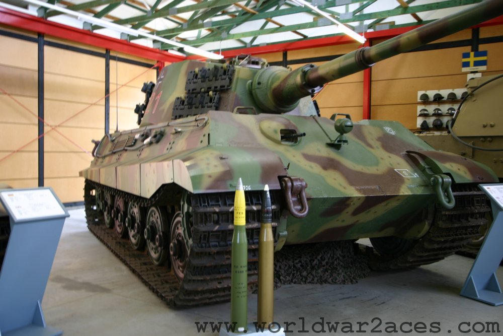 King Tiger Tank Photos Walkaround Gallery